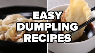 Easy Dumpling Recipes • Tasty Recipes