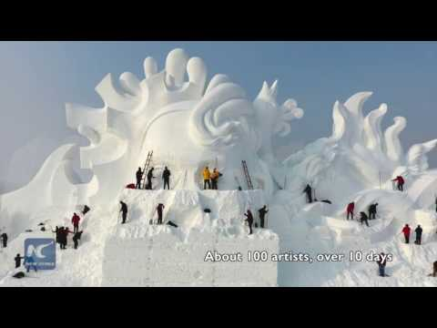Welcome to Harbin, China's Ice City. A #frozen world with #snow and #ice awaits you