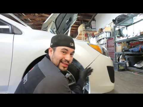 How to Replace / Remove Front Bumper & Headlight Subaru Impreza 2011-2016