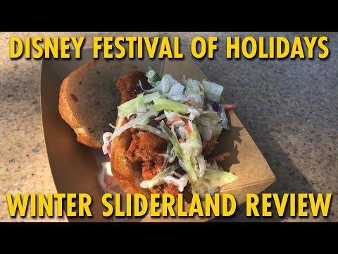 Winter Sliderland Marketplace Review at Disney Festival of Holidays | Disneyland