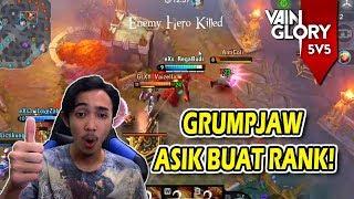 RANKED PAKE GRUMPJAW EZ PZ ENAK - VAINGLORY INDONESIA #133