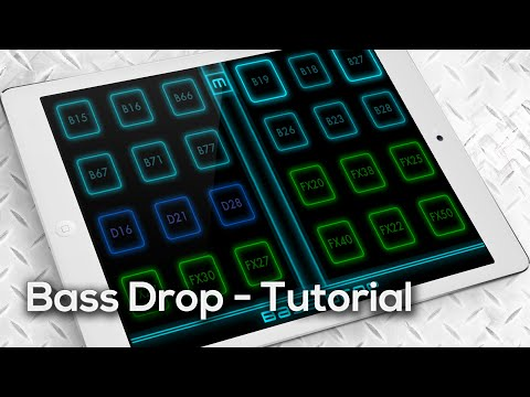 Bass Drop App - Wobble Bass Dubstep Production tutorial for iPad, iPhone and iPod Touch - V1.0