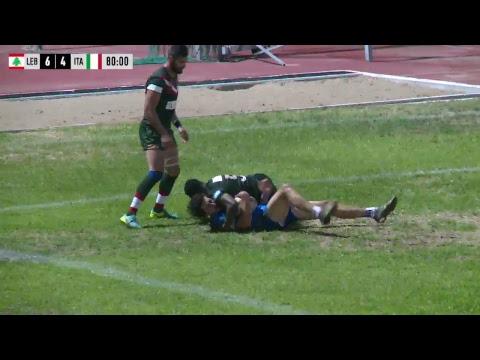 Lebanese Rugby League Mediterranean Cup 2017 Lebanon v Italy