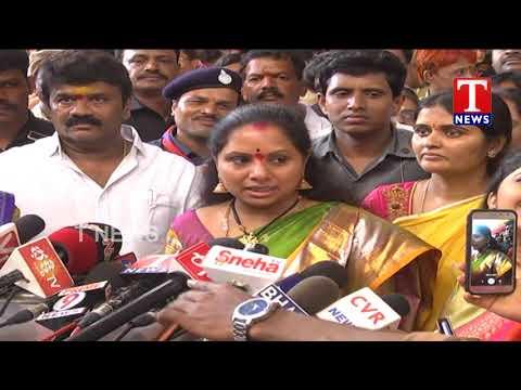 Ex MP Kavitha Special Bonalu Wishes to Telangana Public | Bonalu Celebrations | T News