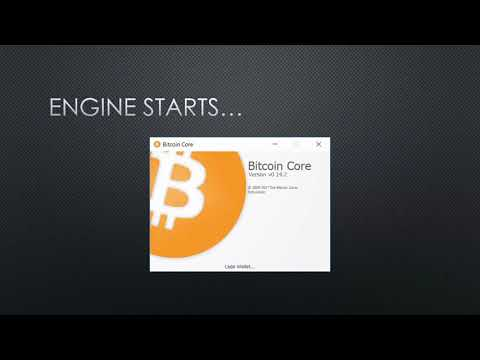 How To Install Bitcoin Core Wallet And Send Bitcoins