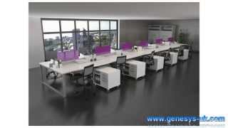 Ibench Bench Desks - Ibench Bench Desking - Ibench Team Tables