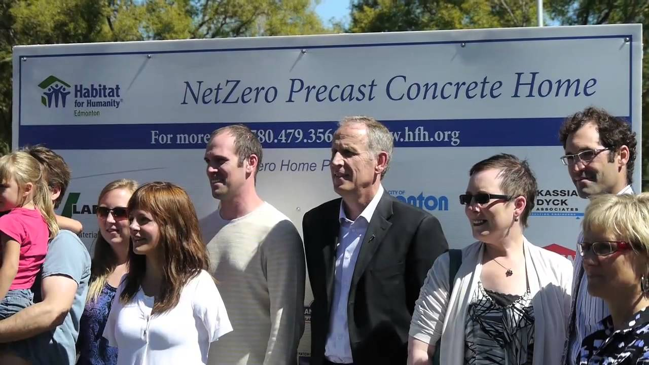 The Owners Of The Netzero Energy Precast Concrete House