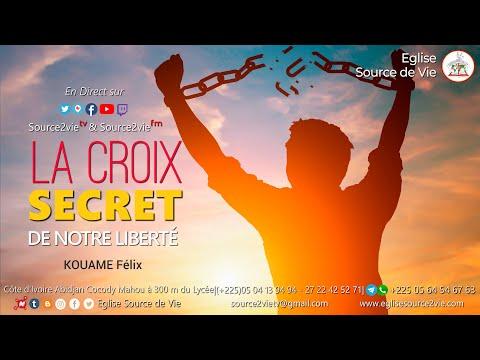 KOUAME Félix | La Croix, Secret de Notre Liberté