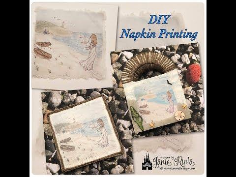 DIY Napkin Printing Tutorial