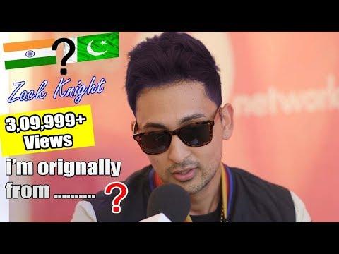 Zack Knight - I Am Orignally From Pakistan - Hd Video - Amit Ral