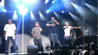 A Tribe Called Quest Busta Rhymes-Scenario-Rock The Bells 2010 New York