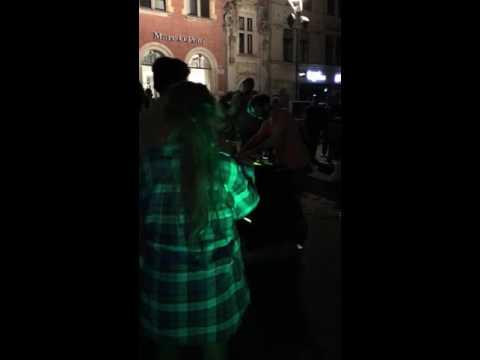 Heath Karing KurzTanz Wanderung 2016 Erfurt