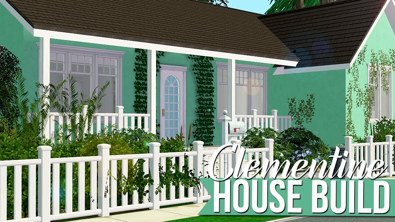 The Sims 2 | House Build - Clementine - 200+ Tumblr Followers Gift