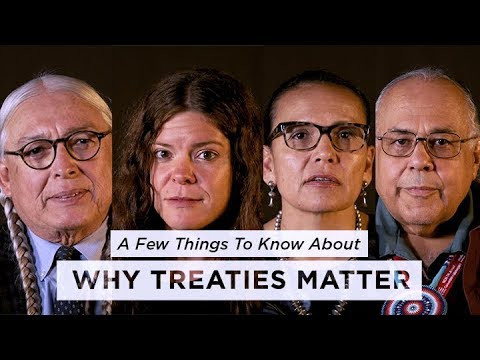 A Few Things to Know About Why Treaties Matter | NPR