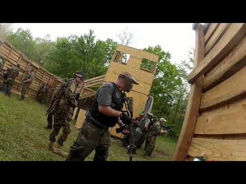 Airsoft, Fallen Warriors Field, Ohio Nuke