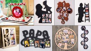Couple & Family!!.. 11 Make Unique DIY Photo-frames | Love Frame - Craft screenshot 3