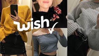 WISH APP CHEAP CLOTHING HAUL 2018! Try On