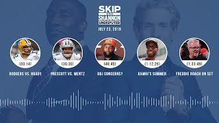 UNDISPUTED Audio Podcast (07.23.19) with Skip Bayless, Shannon Sharpe & Jenny Taft | UNDISPUTED