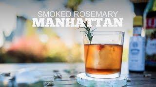 Smoked Rosemary Manhattan