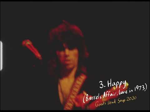 Download The Rolling Stones   Happy (Brussels Affair, Live in 1973)   GHS2020