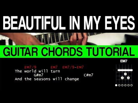 CHORDS SERIES 5 - Beautiful In My Eyes Jericho Rosales Guitar Chords Tutorial
