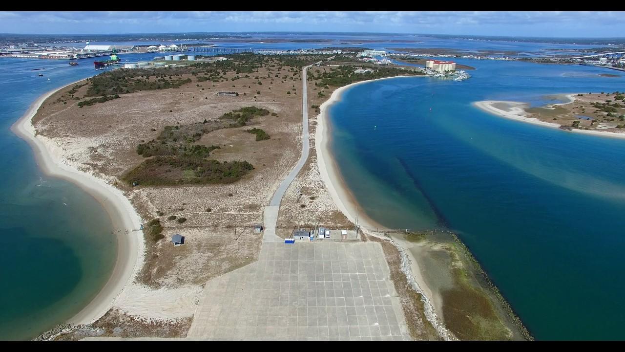 Flight From Radio Island To Fort Macon