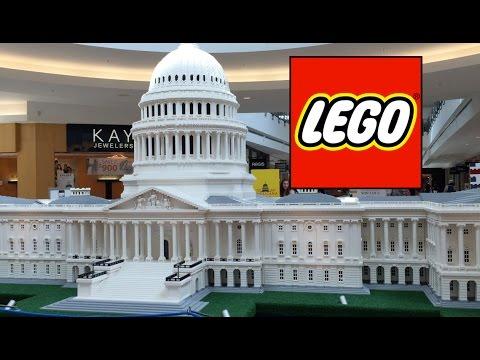 Legos at Stonebriar Centre, Dallas - YouTube