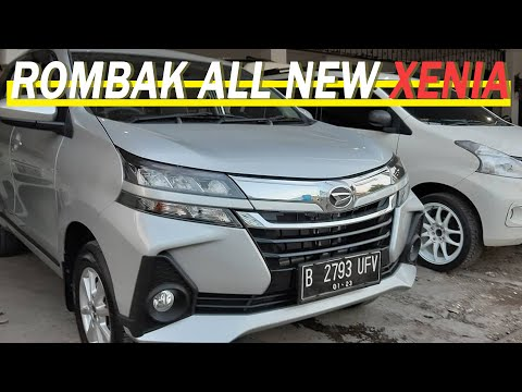 ALL NEW XENIA 2019 ROMBAK INTERIOR