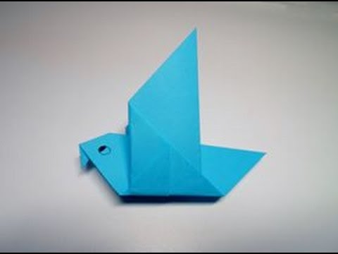 Origami Pigeon (traditional)