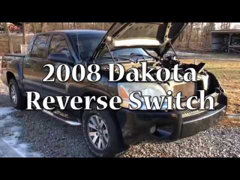 2008 Dodge Dakota Mitsubishi Raider Reverse Wire Backup Camera