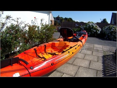 Fishing Kayak Overview - The Wilderness Systems Thresher 140