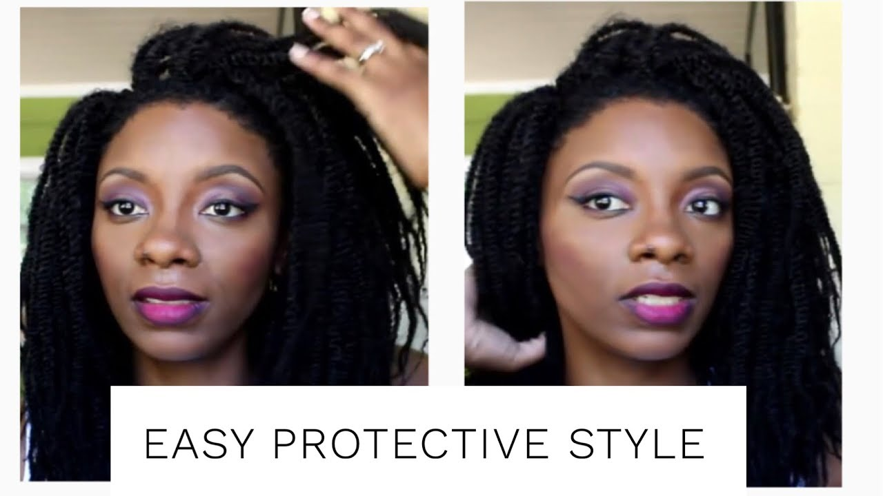 quick, easy,and cheap protective style under $15, crochet braids ...