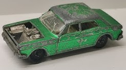 Matchbox restoration Ford Zodiac MK IV nr 53 diecast car making parts