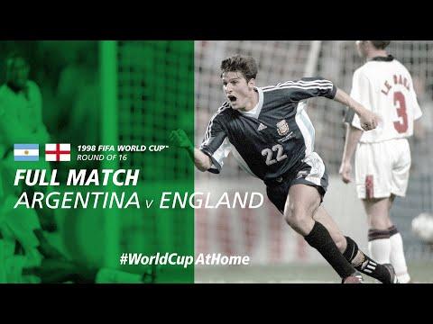 #WorldCupAtHome | Argentina V England (France 1998)