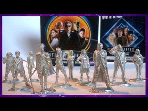 Dr Who Review: Warlord Games 10th & 12th Doctor With Companions Sets  ᴴᴰ