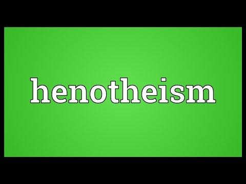 Header of henotheism