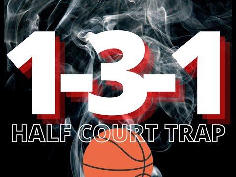 1-3-1 Half Court Trap Defense
