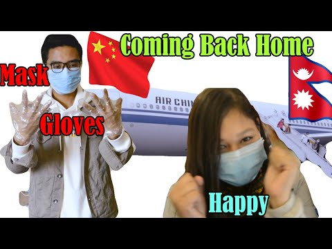 Nepalese Students Coming back to Nepal From China because of Wuhan Corona Virus / COVID-19 /Part 2