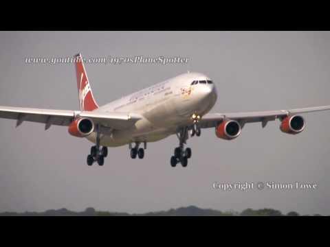 2 Virgin Atlantic A340 B744