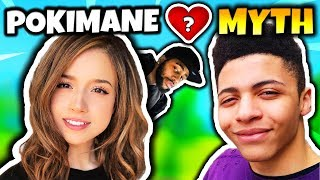 DAEQUAN ASKS POKIMANE IF SHE WANTS TO DATE MYTH! (MYTH REACTS) | Fortnite Daily Funny Moments Ep.32