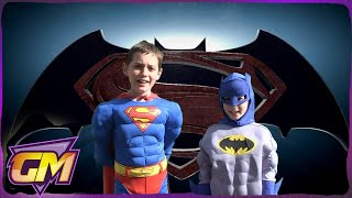 One of Gorgeous Movies's most viewed videos: Superman Vs Batman: Kids Parody of John Newman's Love Me Again