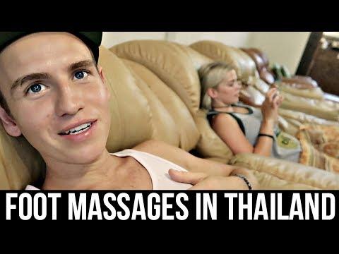 $4 THAI FOOT MASSAGES IN BANGKOK- Thailand
