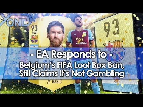 EA Responds to Belgium's FIFA Loot Box Ban, Still Claims It's Not Gambling