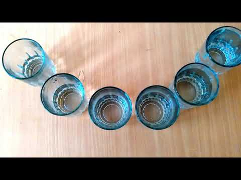DIY How to make a xylophone with glass cups.   HackBoy