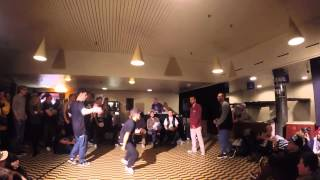 Floor Wars 2015 International 2vs2 Toprock Battle True Rockin