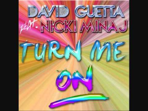 David Guetta Ft. Nicki Minaj - Turn Me On (Audio/R-Edited) HD