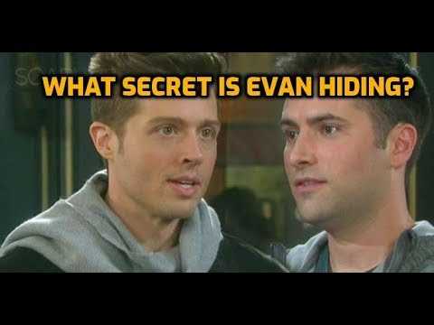 Days Of Our Lives Spoilers: What Secret Is Evan Hiding?