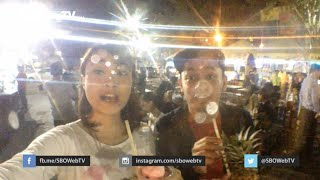Menikmati Street Juice At Food Truck Hawaiian Night 2015