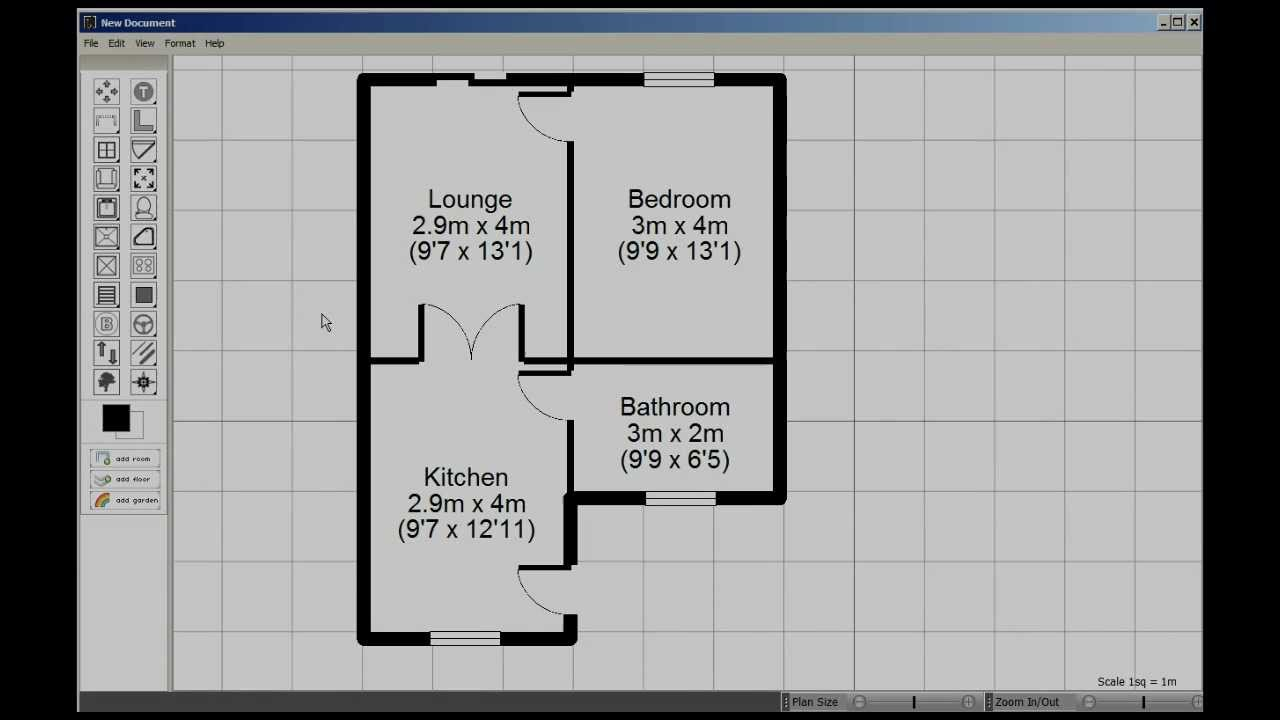Visual floorplanner tutorial youtube for Floorplanner software