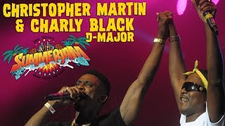 Christopher Martin with Charly Black &  D-Major @ SummerJam 2018